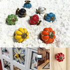 Round Pumpkin Draw Pull Handle Drawers Cupboard Ceramic Knobs Cabinet Kno