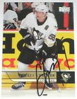 SERGEI GONCHAR SIGNED UPPER DECK PITTSBURHG PENGUINS CARD AUTOGRAPH AUTO!
