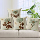 Vintage Flower Pillow Case Bed Sofa Square Throw Cushion Cover Home Decor Goodis