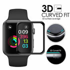 TKL 3D Full Cover Tempered Glass ScreenProtector for Apple Watch Series 3 2 1