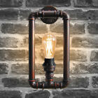 Vintage Industrial Rustic Steampunk Metal Waterpipe Ceiling Wall Table Lights