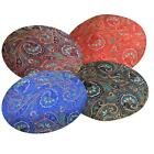 RoundShape Cover*Chinese Rayon Brocade Floor Chair Seat Cushion Case Custom*BL18