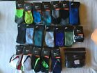 Nike Crew No Show Quarter Socks New Tags Blue Black Orange G