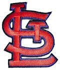 St Louis Cardinals Baseball MLB Iron On Patch Embroidered Team Logo 2.25""