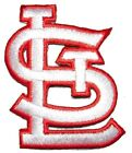 """St Louis Cardinals Baseball MLB Iron On Patch Embroidered Team Logo 2.25"""""""