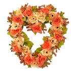 A-SZCXTOP Heart-shape Garland for Wedding Home Decoration Romantic Hanging Wreat