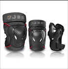 6 Pcs Elbow Knee Wrist Protective Guard Safety Pads Skate Bicycle adult Kids