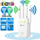 1200Mbps Wireless WiFi WLAN Repeater Verstärker Extender Router mit 4 Antenne DE