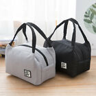 portable lunch bags insulated canvas box tote