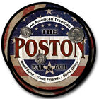 Poston Family Name Drink Coasters - 4pcs - Wine Beer Coffee & Bar Designs