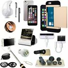 Gold Pocket Case Cover Wireless Headset Monopod Accessory For iPhone X XR XS