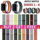 Replacement Sport Loop Nylon Woven Band for Apple Watch Series 4 3 2 1 40mm/44mm image