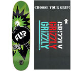 "FLIP Skateboard Deck CAPLES BOOM P2 8.25"" with GRIZZLY GRIPTAPE image"