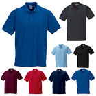 RUSSELL MENS ULTIMATE 100% COTTON SHORT SLEEVE PIQUE POLO SHIRT XS-4XL 577M