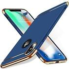 Phone XS Case Cover Hybrid Anti Scratch Protection Shockproof TPU Slim Fit Blue