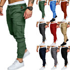 USA Mens Casual Cargo Track Pants Joggers Trousers Jogging Bottoms Sweatpants
