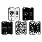 OFFICIAL NBA 2018/19 BROOKLYN NETS BLACK SLIDER CASE FOR APPLE iPHONE PHONES