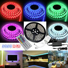 Waterproof 5-20M 5050 RGB LED Strip Light Dimmable Sound Activated Color Change