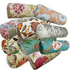 Bolster Cover*A-Grade Cotton Canvas Neck Roll Tube Yoga Massage Pillow Case*Lf4