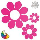 20 Daisy Flower Car & Wall Stickers / Decals   Choose From 30 Colours S5