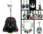 STAR WARS CLIP CHARM BRACELET NECKLACE EARRINGS LEIA DARTH VADER FORCE AWAKENS £2.99 GBP on eBay