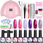 Nail Art Smalto Gel UV Semipermanente Kit Essiccatore per unghie Sets UV LED
