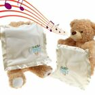 Peek-a-Boo Peter Rabbit / Teddy Bear Soft Plush Toy Stuffed Music Doll Kids Gift