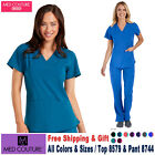 Med Couture Scrubs Set ENERGY Shirttail Serena Top  Yoga Paige Pant 8579/8744