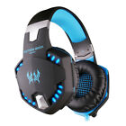 G2100 Gaming Headset Stereo with Mic Noise Cancelling Vibration for PC