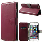 APPLE iPhone 6 iPhone 6 PLUS HANDY TASCHE SCHUTZHÜLLE FLIP COVER LEDER-Imitat