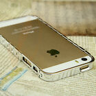 Valentines Gift Luxury Stainless Steal Watch Chain Hot Bumper Frame for iPhone 5