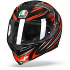 AGV K 5 S Hurricane 20 Black Red Motorcycle Helmet Free Shipping New