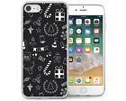 Apple iPhone 7 Case Christmas Black And White Best Protective Silicone Gel Cover