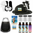 Belloccio Master Sunless Spray Tanning System, 4 DHA Tan Solutions, Tent, Video