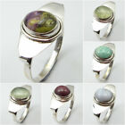 Anniversary Gift !! 925 Sterling Silver MOHAVE STICHTITE & Other Gemstone Ring