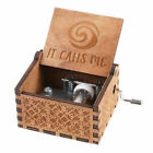 Wooden Music Box Harry Potter Game of Thrones Star Wars Engraved Toys Kids Gift