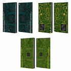 HEAD CASE DESIGNS CIRCUIT BOARDS LEATHER BOOK WALLET CASE COVER FOR AMAZON FIRE