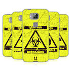 HEAD CASE DESIGNS HAZARD SYMBOLS SOFT GEL CASE FOR HUAWEI PHONES 2