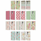 HEAD CASE DESIGNS FRENCH COUNTRY PATTERNS LEATHER BOOK CASE FOR LG PHONES 2
