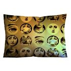 "MOUTH LIPS FORNASETTI Throw Pillow Case 16"" x 24"" and 18"" x 26"" Cushion Cover image"
