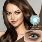 1 PAIR Fresh Coloured Contact Lenses Yearly Color Contacts Lens Lentilles New