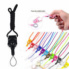 Cell Phone Mobile Neck Strap Key Ring Holder Id Card Lanyard Detachable Chain