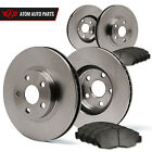 11 12 Fits Nissan Murano LE/S/SL/SV (OE Replacement) Rotors Metallic Pads F+R