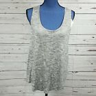 NWT Loose Heather Gray Tank  - A NEW DAY -  M L XL XXL #W90