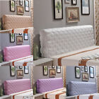 Внешний вид - Silk Stretch Headboard Cover Protector Soft Bed Headboard Decor Cover King