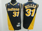 Reggie Miller 31 Indiana Pacers Classic Throwback Swingman NBA Jersey NEW