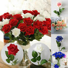 Large Artificial Rose Silk Fake Flowers Head Floral Wedding Home Bouquets Decor