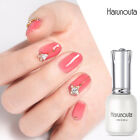 Harunouta 12ml Jelly Gel Polish Pink Purple Soak Off UV Gel Nail Art Varnish