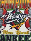 NY Yankees World Series 1999 Tee Shirt Derek Jetter Vtg XL