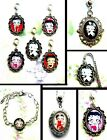 BETTY BOOP CLIP ON CHARM OR NECKLACE OR BRACELET OR BOOKMARK OR LOCKET £6.99 GBP on eBay